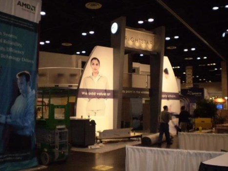 MOD052 - Custom Trade Show Exhibit for Manufacturing