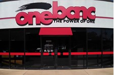 - Image360-Little Rock - Dimensional Signage - One Banc