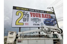 Billboard for Community Trust Credit Union promotion, Round Lake Beach, IL
